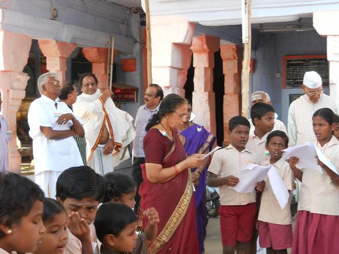 Gita Chanting initiated by Jaya Sankar